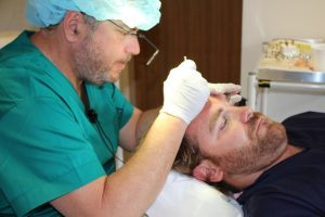 Andy Goode - hair procedure